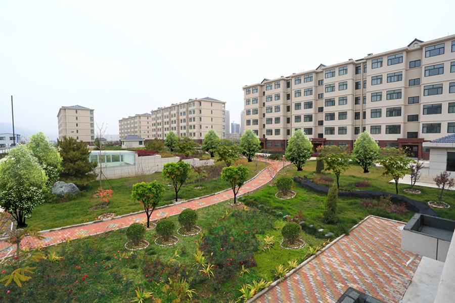 公司建设的惠民花园公共租赁住房